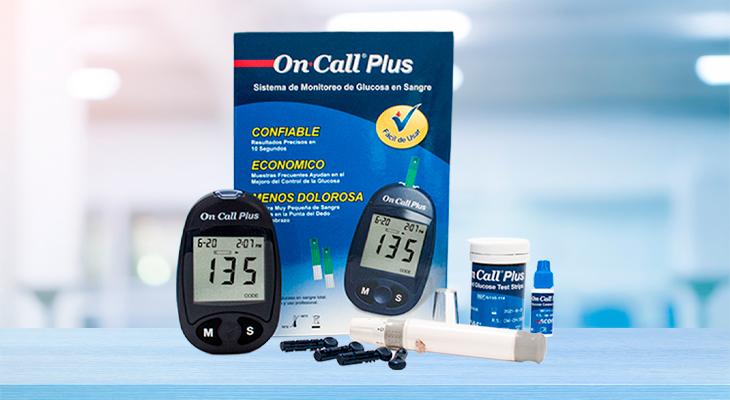 Beneficios de tener un Glucometro On Call Plus